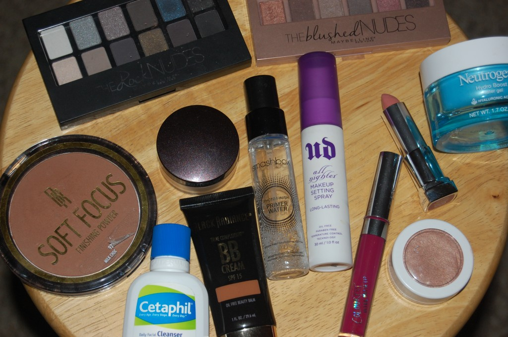 Spring Makeup Haul Products