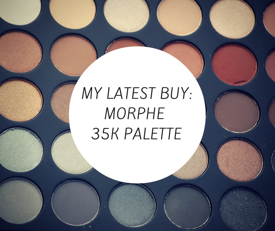 My Latest Buy: Morphe Brushes 35K Palette