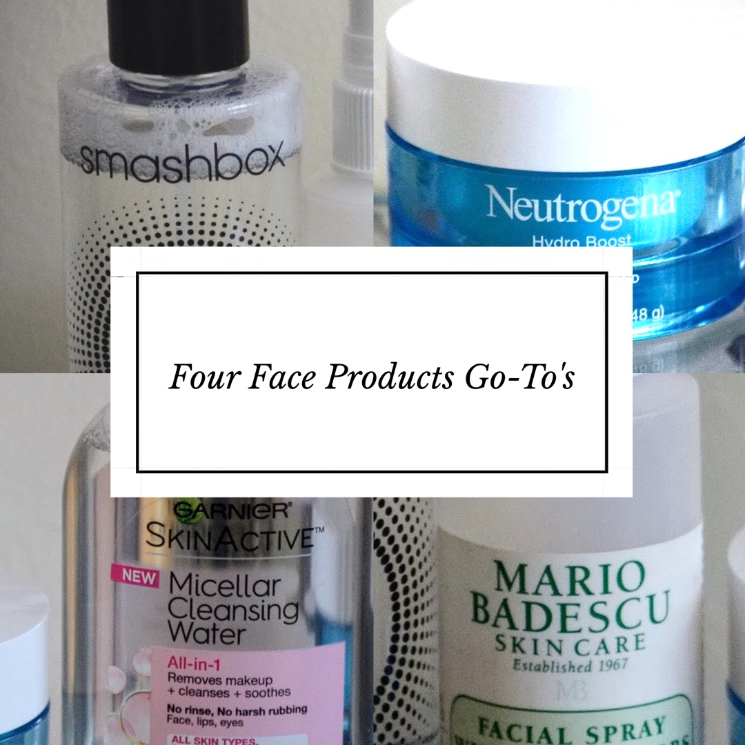 Four Face Products Go-To's