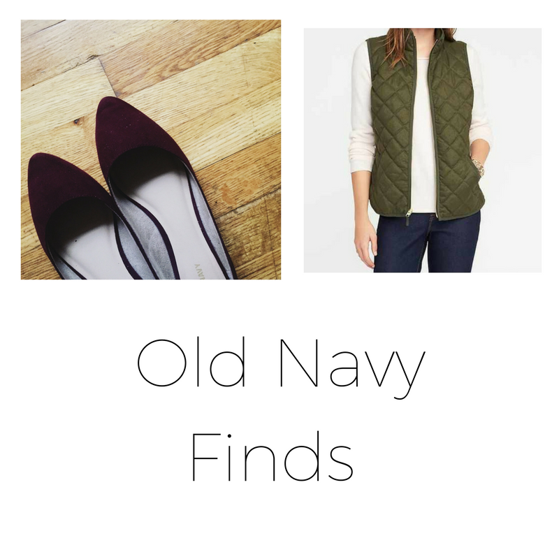 Old Navy Finds