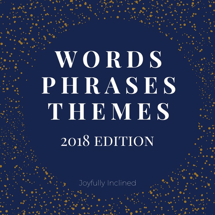 Words, Phrases, Themes